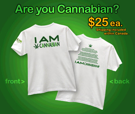 I AM CANNABIAN!